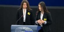 Vídeo Discurso sesión Euroescola Estrasburgo 2019