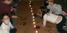 2020-12-17_Los osos de I5B disfrutan con las técnicas prehistóricas_CEIP FDLR_Las Rozas