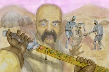 Clotaldo y la espada