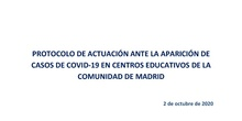 PROTOCOLO COVID CENTROS EDUCATIVOS 02 10 20