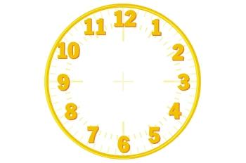 Esfera de reloj