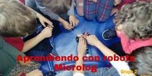 """#cervanbot 2017: """"Aprendiendo con robots"""" con Microlog. Grupo 2 (grabaciones realizadas por alumn@s)"""