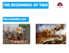 PRIMARIA 3º - CIENCIAS SOCIALES - THE MODERN AGE