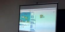 #cervanbot: Demostración robótica de Forma Rocboti-k (grabado por alumnos)