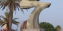 Monumento de proclamación del presidente, Monastir, Túnez