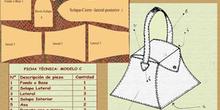 bolso caja ficha técnica
