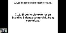 0711 El comercio exterior en España