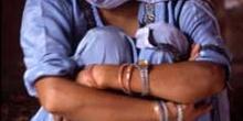 Mujer sentada, Agra, India