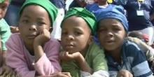 Johannesburg : des stars du sport dans les townships