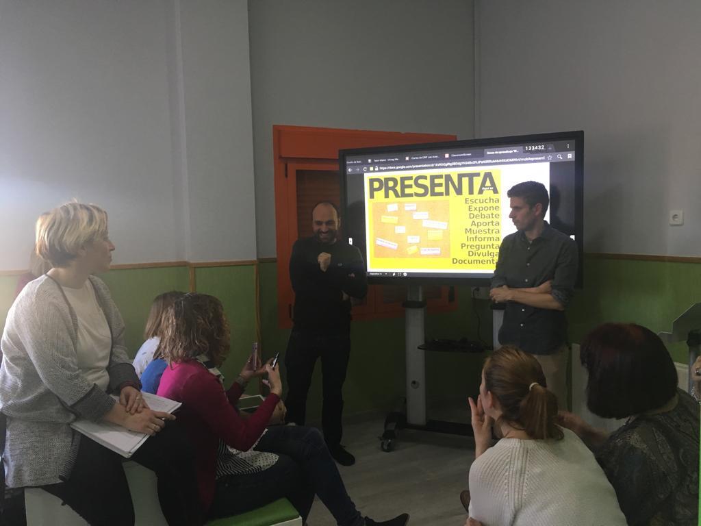 """Proyecto de formación """" Aula XXI"""" 9"""