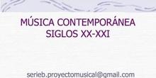 3º ESO HISTORIA DE LA MÚSICA. CONTEMPORÁNEA.