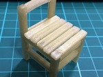 Antique Child School Chair