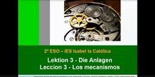 2º ESO / Tema 3 -> Los mecanismos