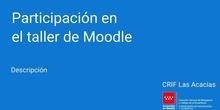 Participación en el taller de Moodle