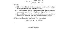 Exámenes Resueltos - Análisis - Matemáticas II