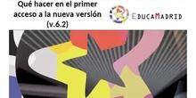 Introducción general a la nueva versión (6.2) del Portal Educativo