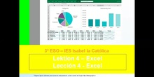 3º ESO / Tema 4 -> Excel