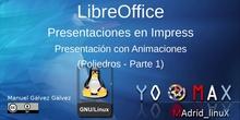 Impress 2 - Presentación con animaciones Poliedros
