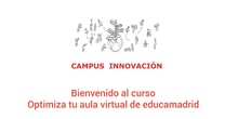 "Vídeos del curso avanzado ""Optimiza tu aula virtual"""