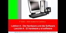 1º ESO / Tema 4 -> El hardware y el software