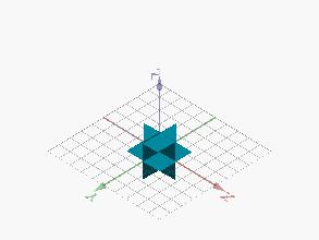 Rompecabezas 03: estrella de doce puntas (puzle montado)