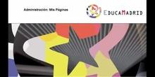 Gestión de espacios WEB en EducaMadrid