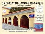 """Periódicos """"Crónicas del Jorge Manrique"""""""