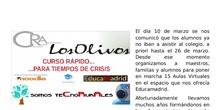 Curso de Aulas Virtuales para tiempos de crisis y algunas ideas más para teletrabajar