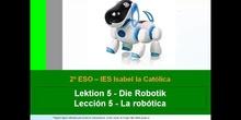 2º ESO / Tema 5 -> La robótica