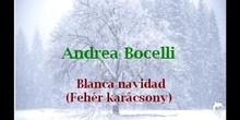 BLANCA NAVIDAD de Andrea Bocelli