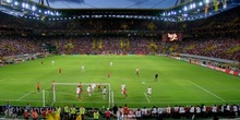Partido entre Portugal y España, Estadio José Alvarade, Eurocopa