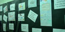 Exposición de trabajos de Ciencias