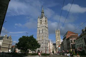 Torre de Belfort, Gante, Bélgica