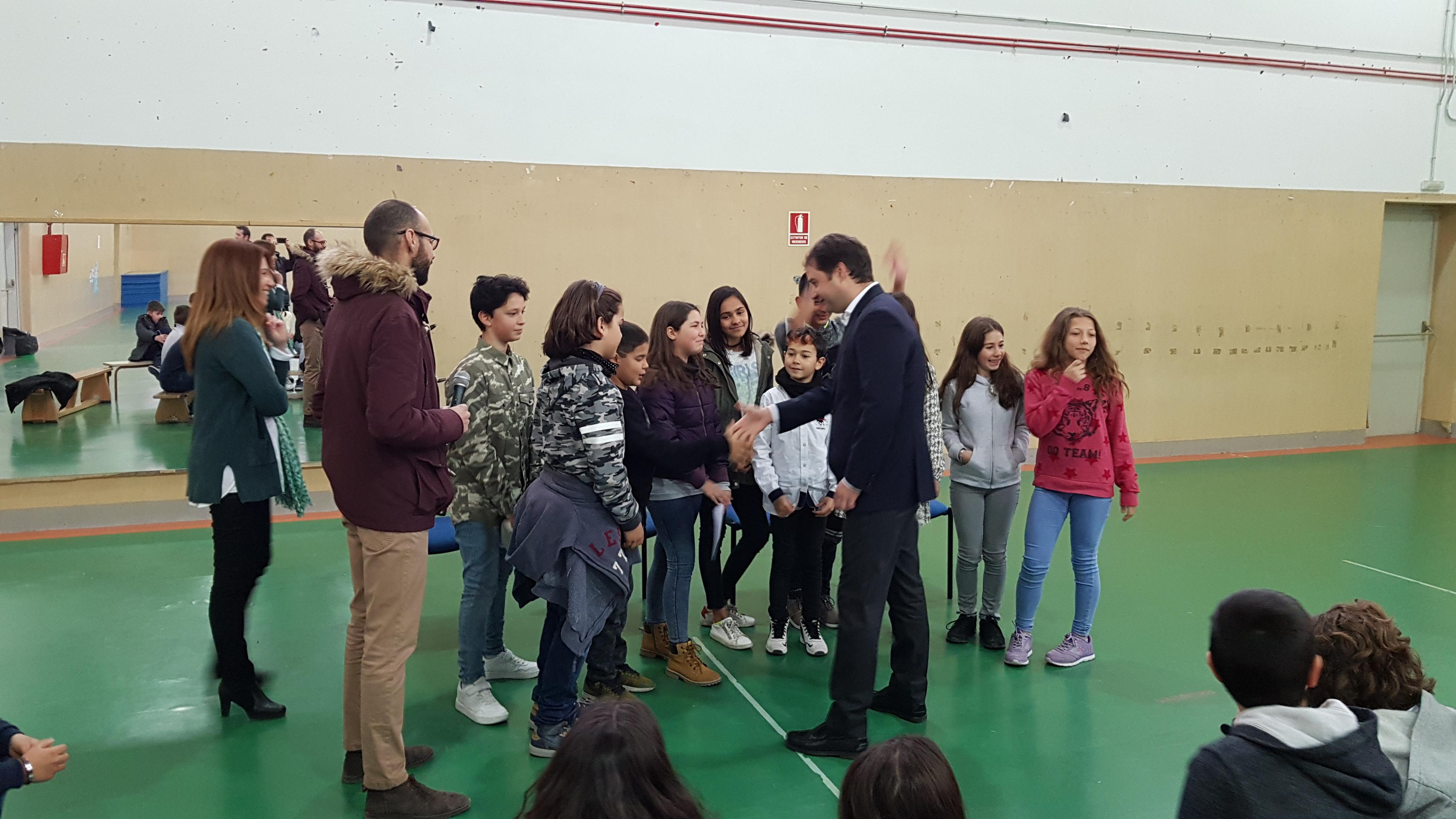 Visita del Alcalde de Torrejón de Ardoz al CEIP Andrés Segovia 11
