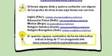 tareas 1-5 de junio (medio ambiente)