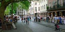 Calles peatonales de Dusseldorf, Alemania