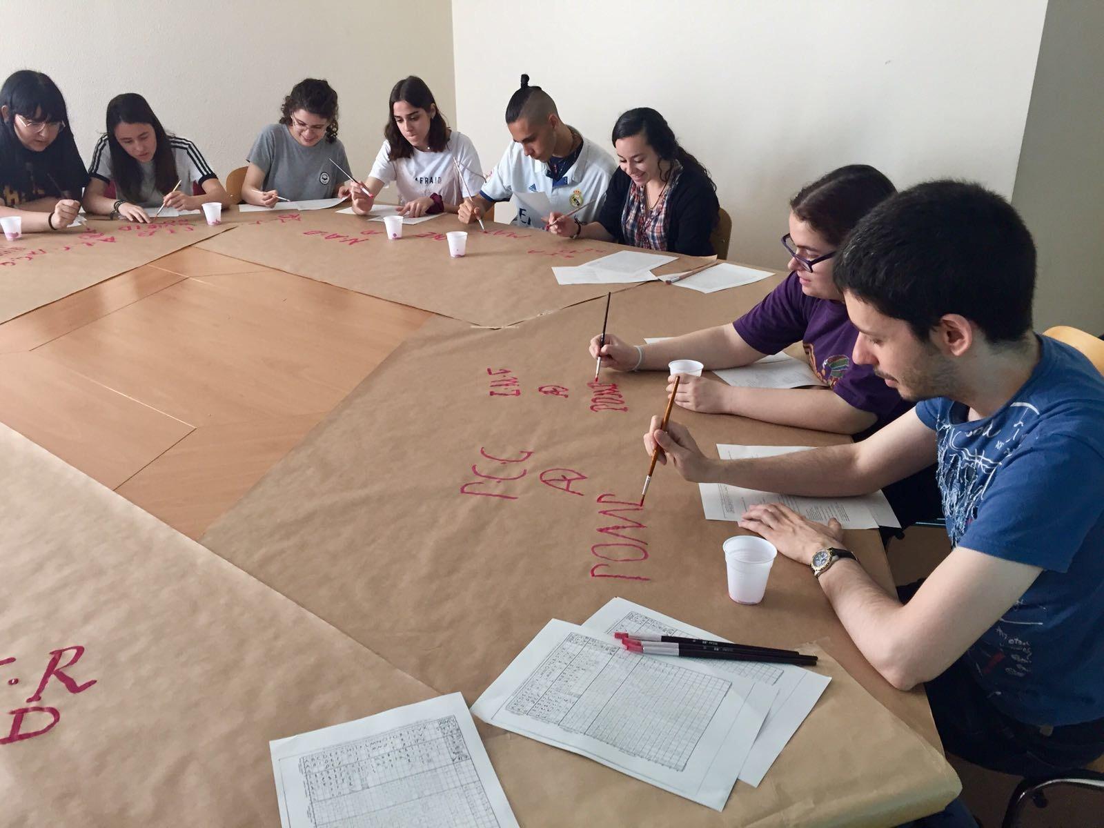 Taller de grafitos pompeyanos - Departamento de Filología Clásica - Universidad Autónoma de Madrid 14