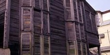 Edificación de madera, Ciudad de Belice