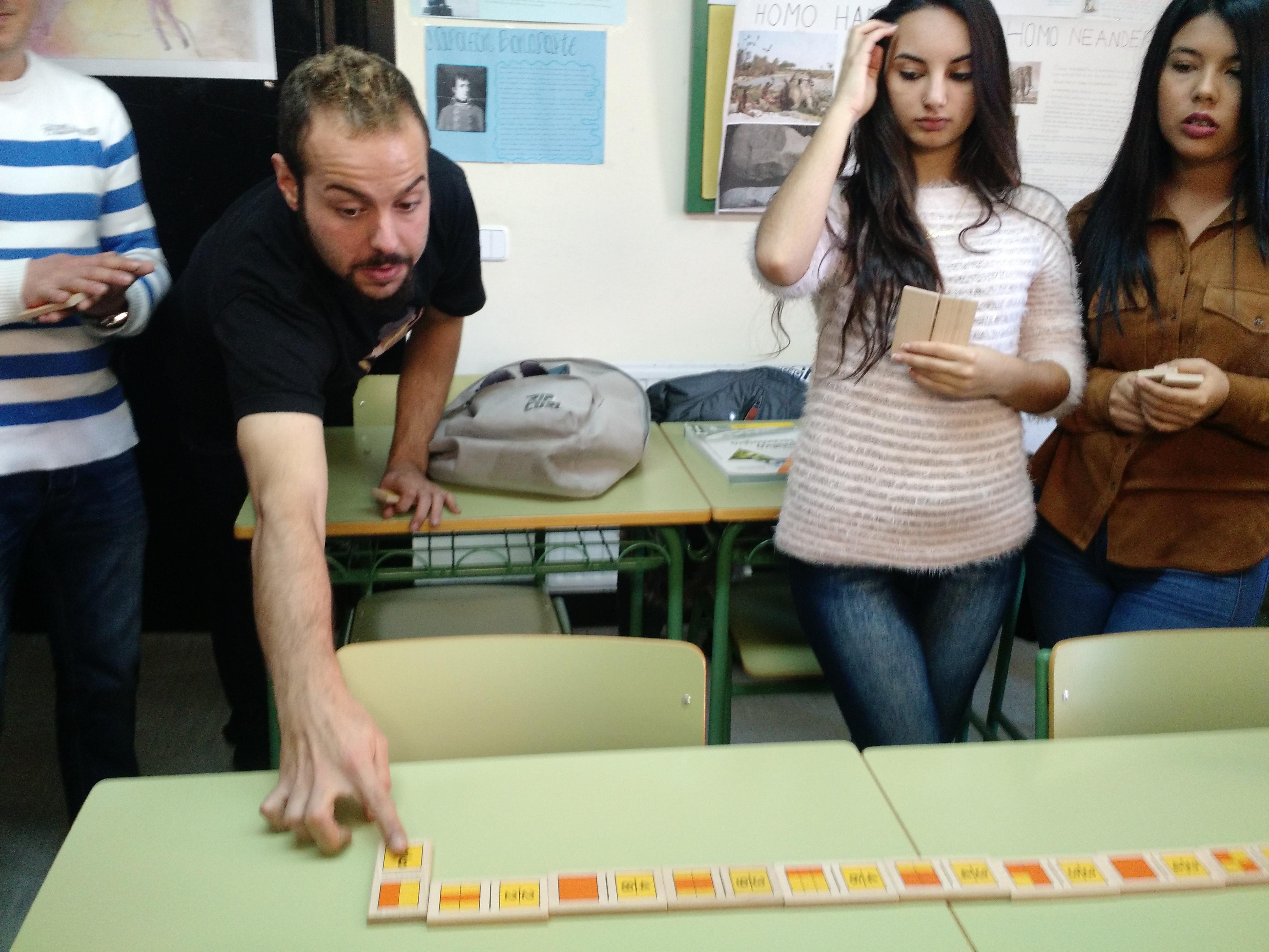 Jugando al dominó (fracciones) 6