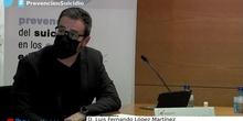 Prevención del suicidio en los centros educativos: D. Luis Fernando López Martínez