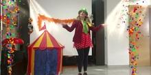 ¡Bienvenid@s al Circo DVD! La Danzarina Mandarina