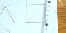 Draw a regular square given the side - Dibuja un cuadrado regular dado el lado
