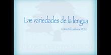 SECUNDARIA. 3º ESO. LAS VARIEDADES DE LA LENGUA. LENGUA Y LITERATURA. CRISTINA POHL