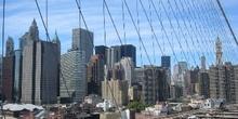 Nueva York visto desde Puente de Brooklyn