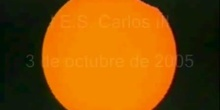 Eclipse en el IES Carlos III