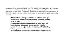 JUSTIFICACIÓN APRENDIZAJE INTERGENERACIONAL
