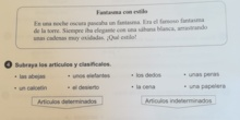 EJERCICIOS DE LENGUA 27 DE MARZO 2