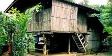 Casa de madera thai, Tailandia