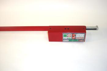 Regla electrónica de medida de ejes