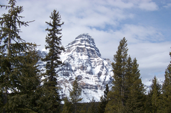Monte Howse (3290 m), Parque Nacional Banff